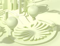 Dubai City 3D modeling