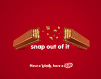 KITKAT 2017 Campaign - Snap out of it