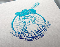 Logo Design: Salty Broad Productions