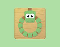 Hangman Snake Icon