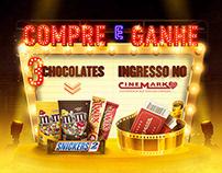 Mars & Cinemark • Promoção Grocery