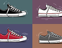 CONVERSE | Chuck Taylor (Set A) Illustration