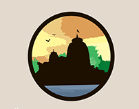 Bhubaneswar Silhouette Illustration