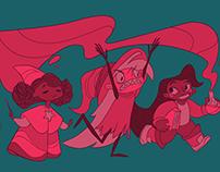 Best Witch Friends