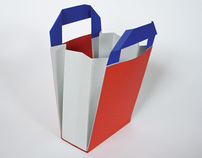 Shopping bag design: RUDI