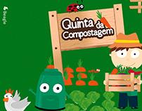 """Jogo """"A Quinta da Compostagem"""""""