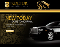PROCTOR WEBSITE DESIGN
