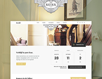 Hotel Recour - Webdesign