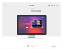 pick.one online shopping web design