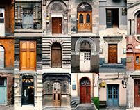 The doors of Yerevan