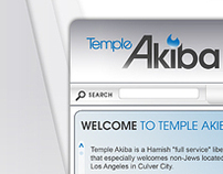 Temple Akiba Website