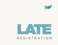 Late Registration Design Series