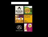 Bisol. Progettazione etichette
