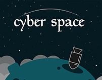 Cyber Space website design