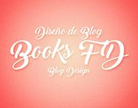 Diseño de Blog Books FD/Blog Design