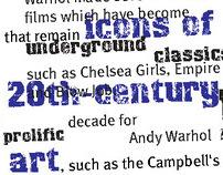 Graphic Design - Editorial