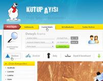 KutupAyisi.Com - Home İnterface Design