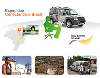 Expedition Conectando Brasil Nokia Siemens Networks