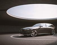 Audi RS4 -Full CGI