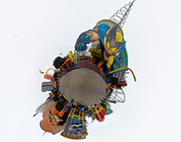 Theme Park Stereographic Planets