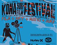 Kona Surf Film Festival 2011 - 2017