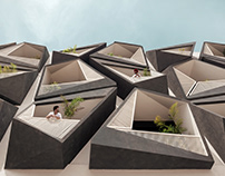 Never Never Cube in India by Studio Ardete