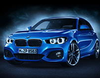 BMW 125i M-Sport | CGI | 3D Modeling