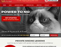 Grumpy Cat, Web page