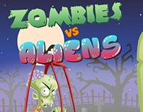 ZombiesVsAliens_3D School Project