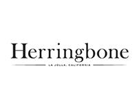 Herringbone Branding & Menu Design