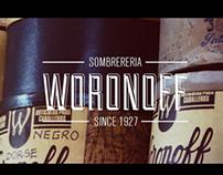 Sombrerería Woronoff - Branding