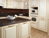 Classic kitchen show room