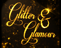 Glitter & Glamour // Invitation