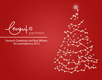Christmas e-card for Levant Partners Greece SA