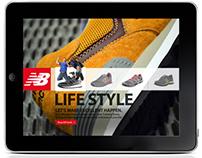 New Balance iPad Application
