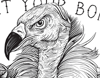 Poster Vulture Terror