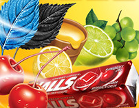 Fruit Illustrations - Halls