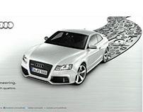 Audi : Print Campaign