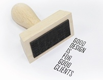 Good design is for good clients