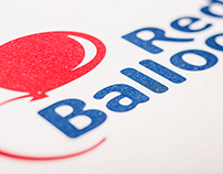 Rebrand Logo Red Balloon