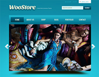 WooStore Shopping Cart New Design