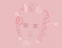 little princess | fashion illustration |