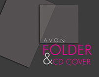 Avon folder and CD cover
