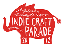 2012 Indie Craft Parade Branding