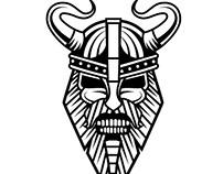 Viking vector clip art.