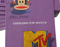 PaulFrank & MTV FW 2015/16 Product Catalog