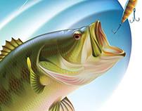 Drawing of a Largemouth Bass
