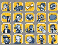Random game icons