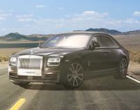 Manipulação - Rolls Royce Phantom