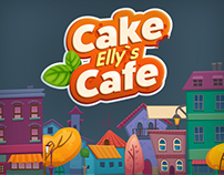 "Map for a game ""Elly's Cake Cafe"""